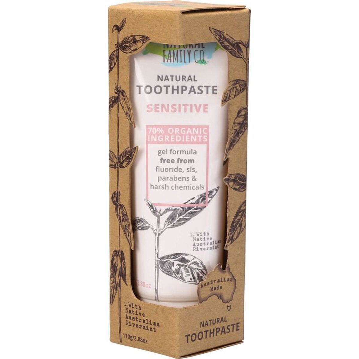 The Natural Family Co. Sensitive Toothpaste
