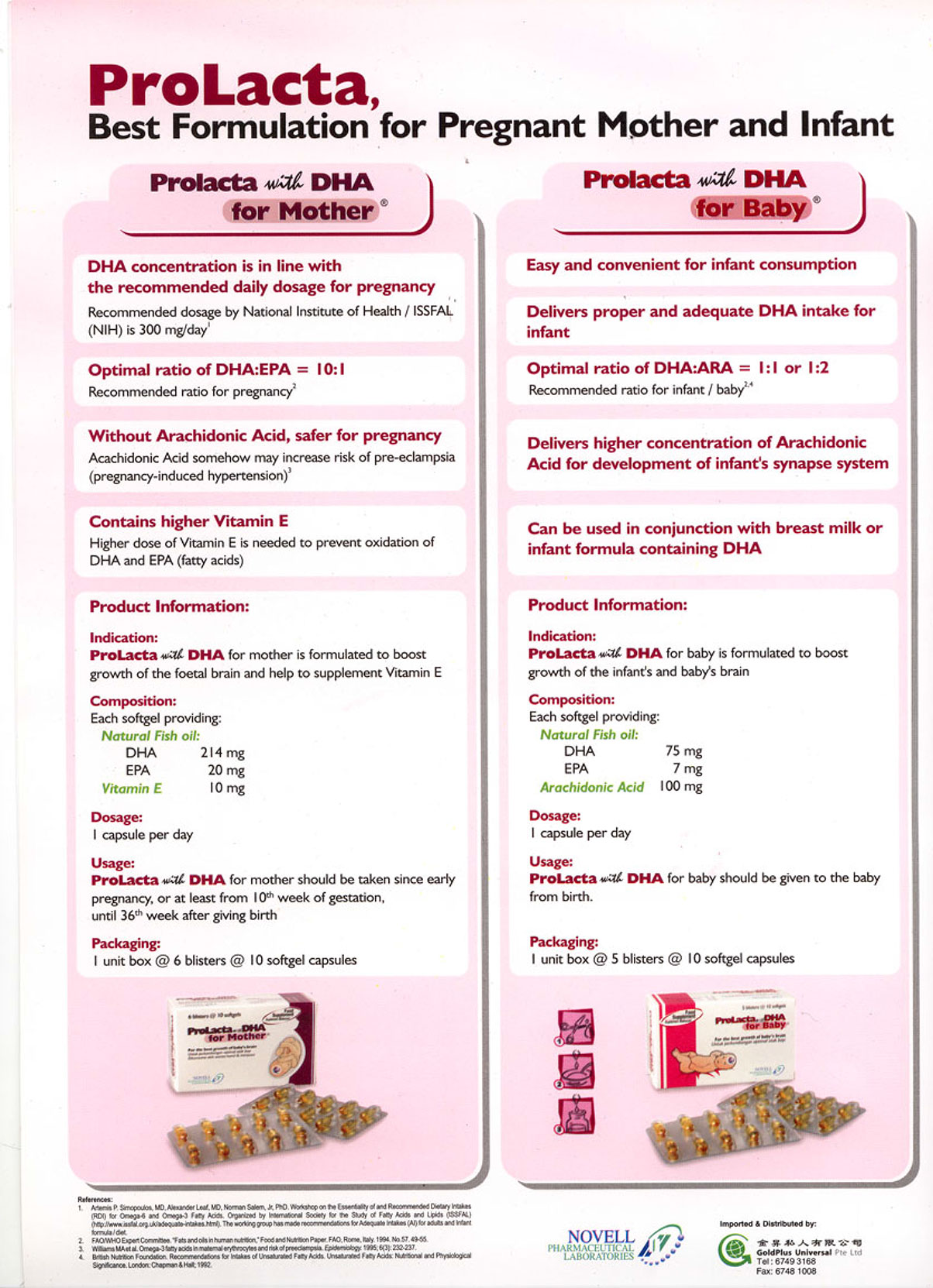 Home / Products / Fertility & Pregnancy / Pregnancy / Prolacta with DHA for Mother