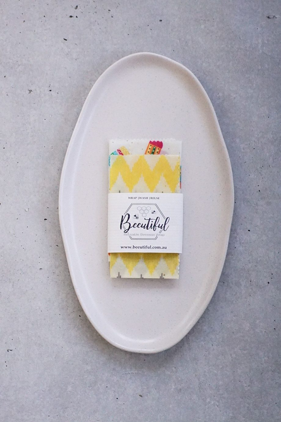 2 Pack Beeswax Wrap