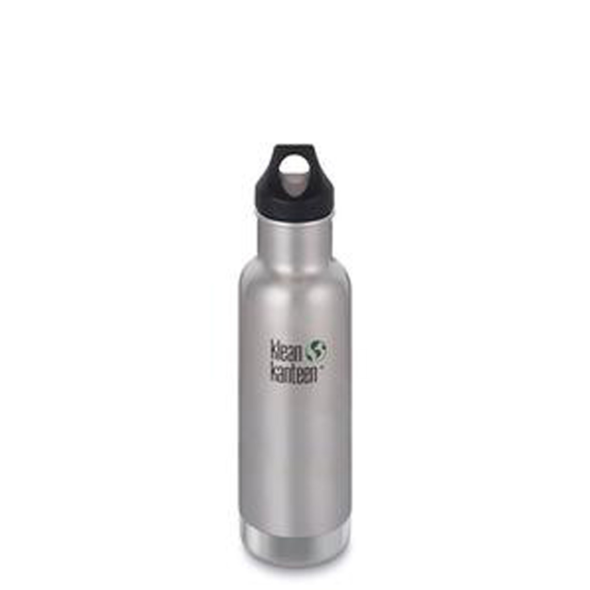 KLEAN KANTEEN Stainless Steel Bottle Insulated  Brushed Stainless – Loop Cap 592ml