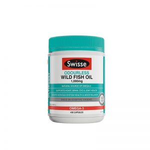Swisse Fish Oil 1000mg 400 capsules