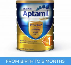 Aptamil Gold+ 1 Formula - Birth to 6 Months