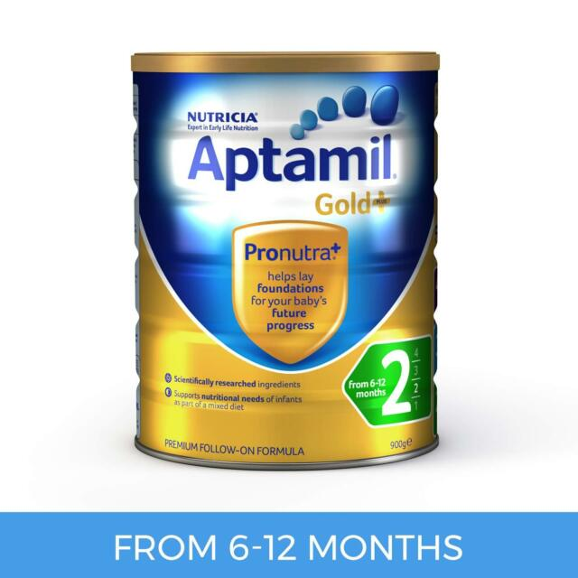 Aptamil Gold+ 2 Follow-On Formula 6-12 Months 900g (Pre-order)