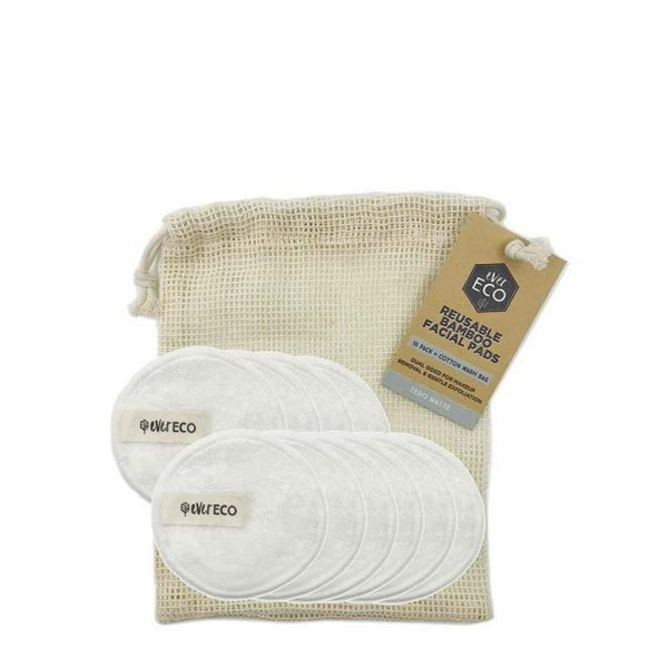 Ever Eco Reusable Bamboo Facial Pads - 10 pack