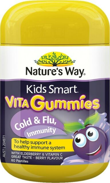 Nature's Way Kids Smart Cold & Flu Immune Support 60 Pastille